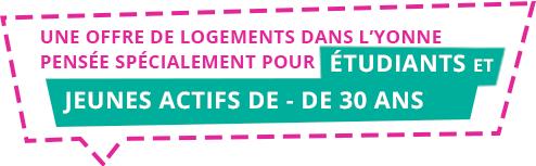 LOCIZY : une offre de logements dans l'Yonne pour les moins de 30 ans